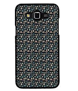 Fuson Premium U r my Key Metal Printed with Hard Plastic Back Case Cover for Samsung Galaxy Grand 3 G7200 G7202