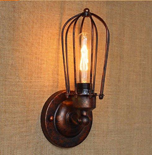 ZhZhCo Moderne Minimalistische Einkristall Schlafzimmer Wand Lampe Am Bett Studie Pastorale Kreativraum Flur Wandleuchte