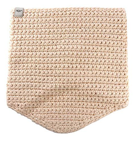 UGG Women's Crochet Snood with Lurex & Sequins Freshwater Pearl Multi Scarf One Size