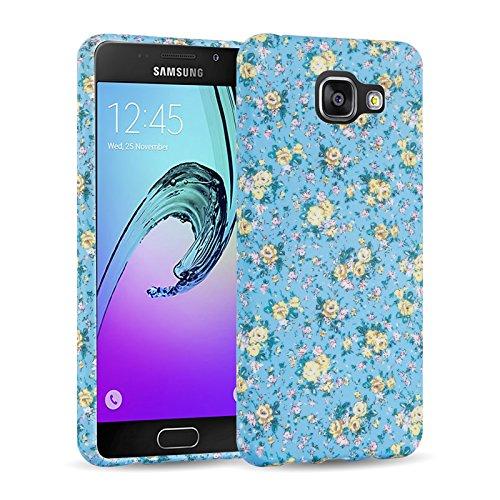 Cover Galaxy A3 (2016), JAMMYLIZARD Custodia SAKURA in Silicone per Samsung Galaxy A3 (2016), FIORE GIALLO