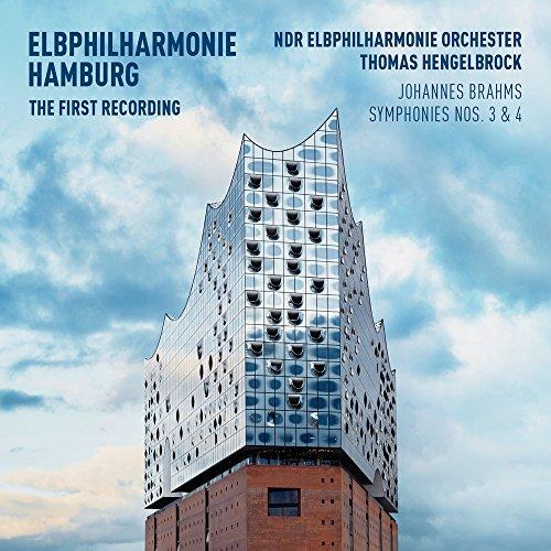 Preisvergleich Produktbild Elbphilharmonie - Die erste Aufnahme: Brahms - Sinfonien 3 & 4 (Deluxe Edition / CD+BluRay) The first recording