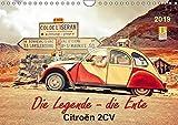 Die Legende - die Ente, Citroën 2CV (Wandkalender 2019 DIN A4 quer): Von der Bauernkutsche zum Kultobjekt. (Monatskalender, 14 Seiten ) (CALVENDO Mobilitaet)