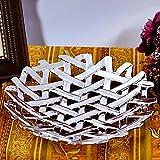 CLG-FLY Ceramica piastra cava,argento coppa di frutta uno