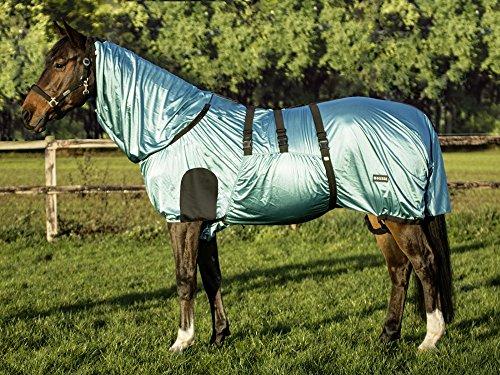 BUSSE everline Ekzemerdecke STRONG, aqua, Rückenlänge 135 cm