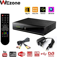 Wezone Digital DVB-S2 Set Top Box 888 Plus A Free to Air Satellite TV Receiver 1080P Full HD PVR USB HDD
