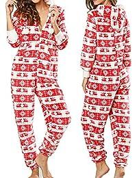 6de470271c Dreamlove Damen Jumpsuit Onesie Overall Einteiler Pyjama Schlafanzug  Trainingsanzug Ganzkörperanzug Hausanzug…