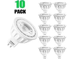 MR16 Ampoule LED Lampe Bulb, Torkase GU5.3 5W Lumière LED, Equivalent 50W Ampoule Halogène Blanc Chaud 2700K 450LM AC/DC 12V