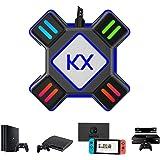 Convertitore KX per Tastiera del Mouse USB Adattatore di Controller di Gioco per Mouse/Tastiera Portatile, Compatibile con PS