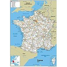 Amazon.es: mapa de carreteras francia