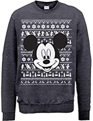 Brands In Limited Mickey Mouse Christmas Mickey Head-sudadera Hombre