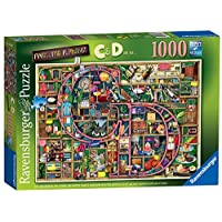 "Ravensburger Colin Thompson - Awesome Alphabet ""C & D"", 1000pc Jigsaw Puzzle"