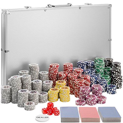 TecTake Mallette de Poker