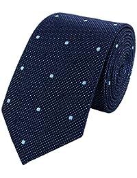 Cravate classique par Fabio Farini, 6 cm largeur, différentes couleurs à choisir