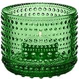 Iittala 006088 Kastehelmi Windlicht, 64 mm, grün