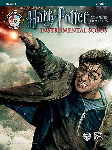Harry Potter Instrumental Solos from the complete Film Series Horn in F, (Book & CD) (Alfred's Instrumental Play-Along)