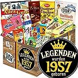 Legenden 1957 | Schokoladengeschenk XL | Ehefrau Geburtstagsgeschenk