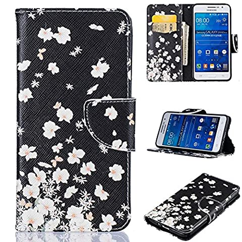 Galaxy Grand Prime G530 Case, FIREF1SH [Card Slots] Kickstand Synthetic