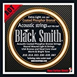 Black Smith 10-47 Coated Jeu de cordes pour Guitare acoustique