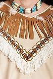 Kostümplanet® Indianer Häuptling Kostüm Indianerkostüm Kostüm Indianer Herren Größe 52/54 -