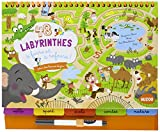 48 LABYRINTHES A FAIRE ET A REFAIRE (COLL. BLOC-NOTES)