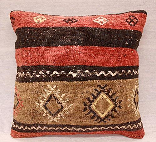 ETFA Kelim Kissen Kissenbezug Kissenhülle cushion cover pillow 40x40 cm 3540