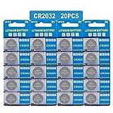 20 Stück CR2032 3V Lithium Knopfzelle Elektro CR 2032 Lithium
