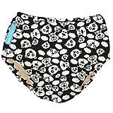 Charlie Banana 2-in-1-Swim Diaper und Training Hose, klein, blackbeary