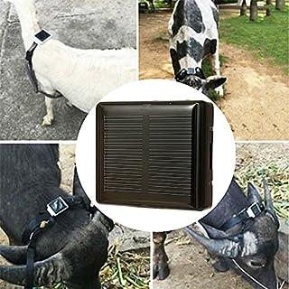 Bauernhof Tier Solar GPS Tracker Klasse 12 TCP / IP 850/900/1800/1900 MHz Pet Solar Locator Für Kuh Pferd Schafe Hund Tracker RF-V26 Auto-Styling Tier Anti-verlorene Locator Schwarz