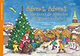 Advent, Advent - Wer kennt die schönsten Weihnachtsbräuche?: Ein Poster-Adventskalender zum Vorlesen und Ausschneiden