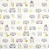 Fabulous Fabrics Canvas Bully Love 2 – rosa — Meterware