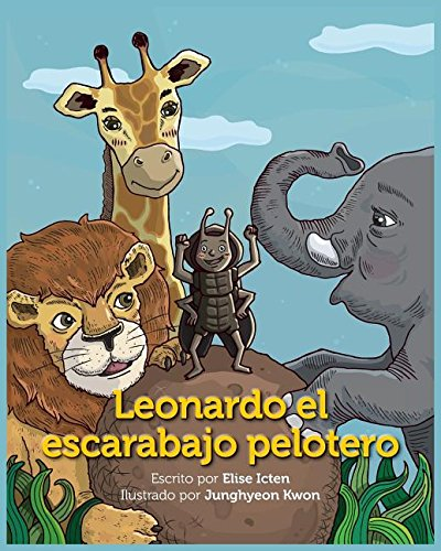 Leonardo El Escarabajo Pelotero por Elise Icten