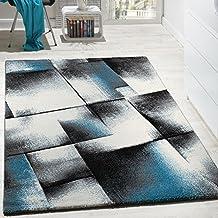 Teppich petrol grau  Suchergebnis auf Amazon.de für: wohnzimmer teppich türkis