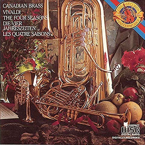 Vivaldi: The Four Seasons, Op. 8 (Transcribed for Brass Quintet by Arthur Frackenpohl) by The Canadian Brass (2007-04-26)