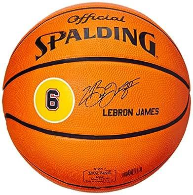 Spalding Player Ball LeBron James 83-022Z Ballon de basket Taille 7