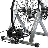 PedalPro - Rullo turbo trainer magnetico per bicicletta con regolatore velocità sul manubrio