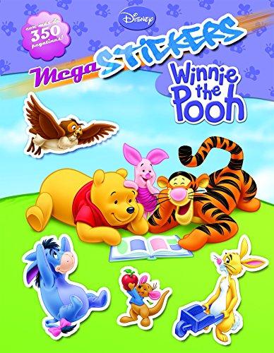 Winnie the Pooh. Megastickers (Disney. Winnie the Pooh) por Disney