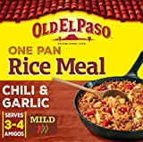Old El Paso Chilli and Garlic One Pan Rice Meal Kit, 355g