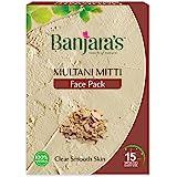 Banjara's Multani Mitti Face Pack Powder (100 gm) , Pack of 1