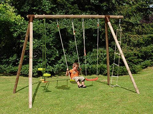 Soulet Portique Bois Hibiscus