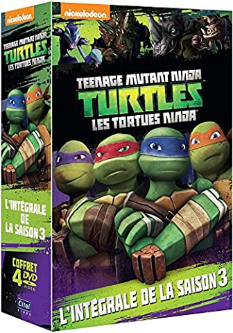 Tortues Ninja S3 : Vol9 À 12 - Coffret 4 DVD