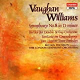 Vaughan Williams: Symphony 8, Partita for Double String Orchestra, Fantasia Greensleeves, Two Hymn Preludes