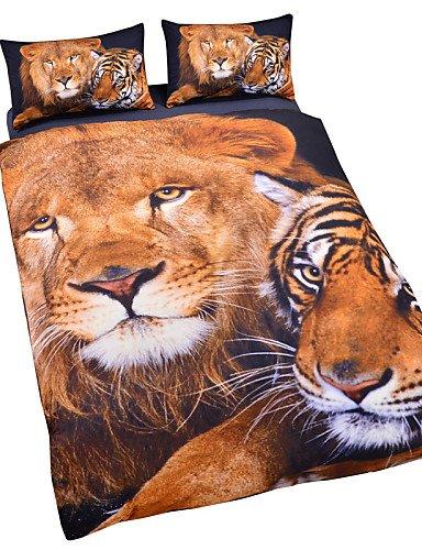 gaol-quattro-pezzi-tuta-tigre-leone-3d-duvet-cover-set-biancheria-da-letto-twin