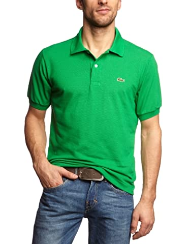 Lacoste L1212 - 00 - Polo Homme Vert (Chlorophyll Cab) Medium (Talla fabricante: 4)