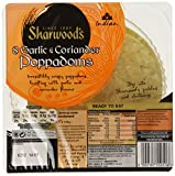 Sharwood's 8 Poppadoms Crushed Garlic & Coriander