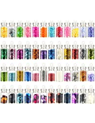 Beauty products glitters imanom nail art decoration tool kit 48pcs 3d nail art supplyglitter powderstone prinsesfo Gallery