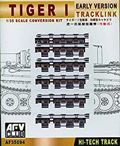 Unbekannt AFV de Club 35094 - Accesorios de construcción Tracks Tiger I Early Articulated