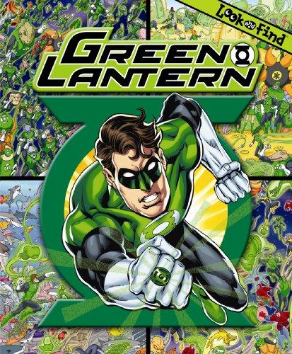 Look & Find Green Lantern