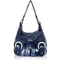 Angel Kiss Damen Handtasche Umhängetaschen Damenhandtasche Schultertasche Lederhandtasche Wasserdicht Tragetasche…