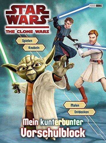 Preisvergleich Produktbild Star Wars The Clone Wars Vorschulblock: Mein kunterbunter Vorschulblock