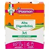 Plasmon Latte Crescita, Alta Digeribilità, 12 x 500ml
